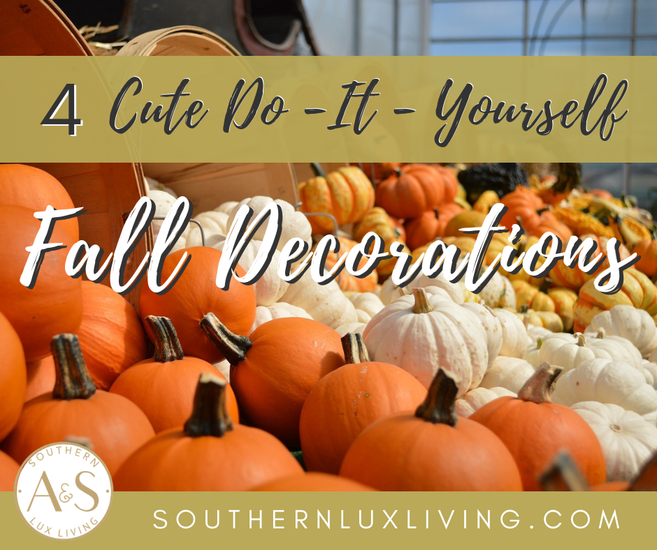 Cute DIY Fall Decor