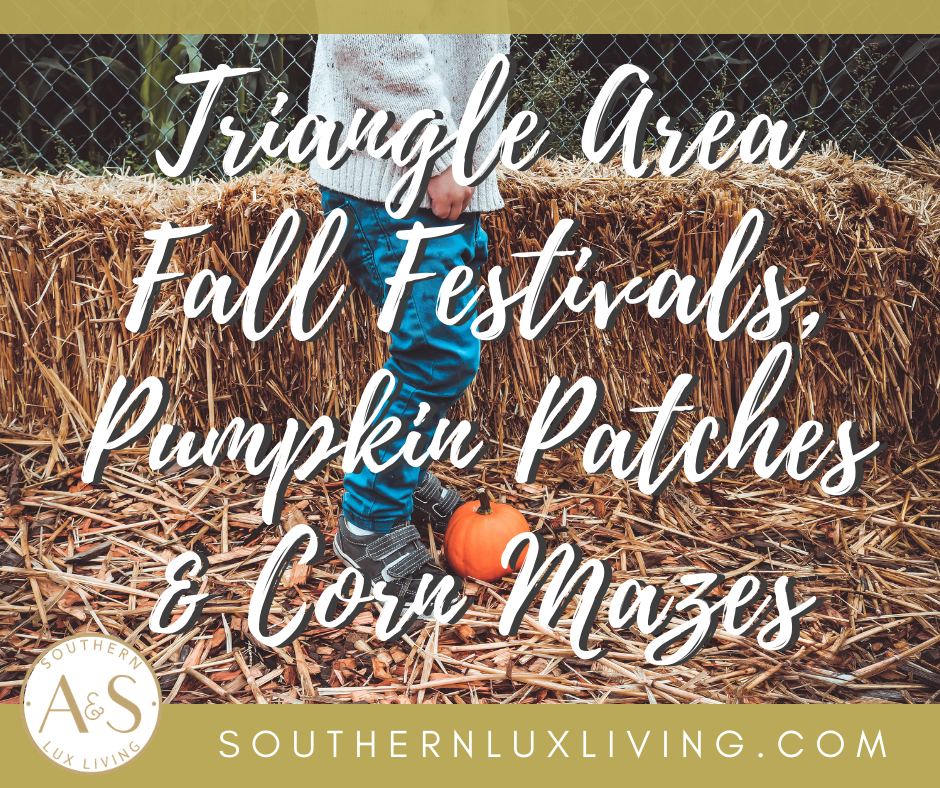 2018 Triangle Area Fall Festivals, Pumpkin Patches & Corn Mazes
