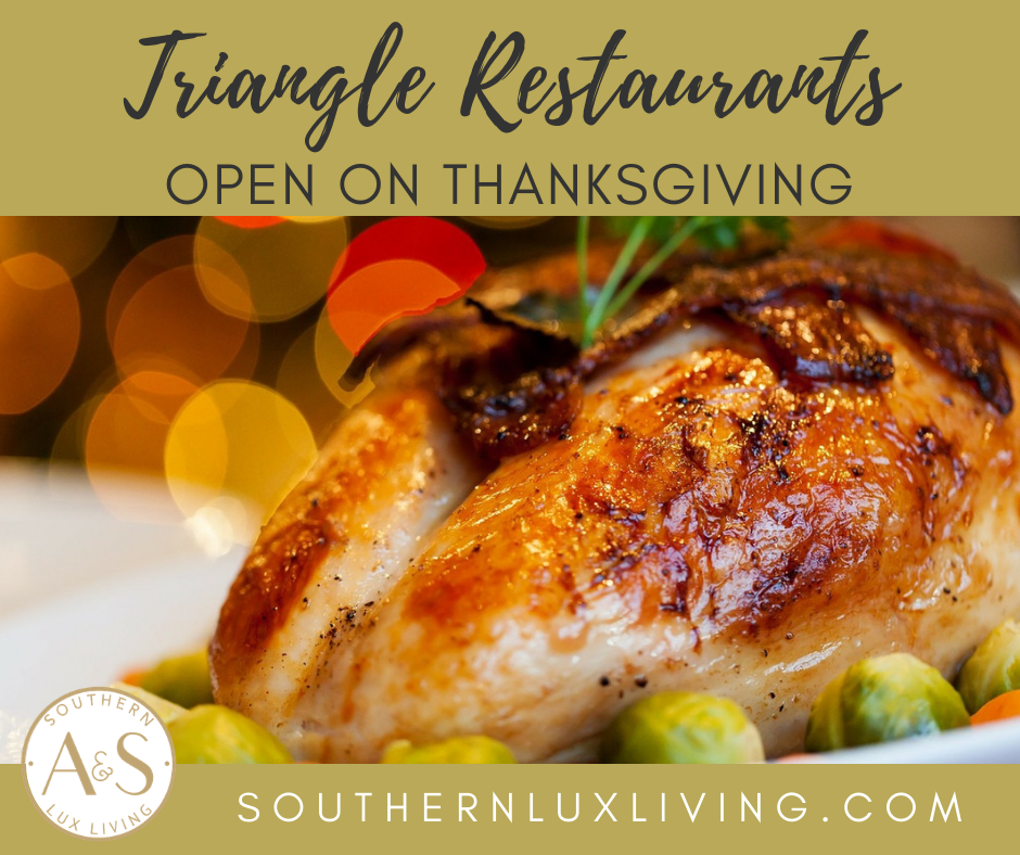 Triangle Restaurants Open on Thanksgiving