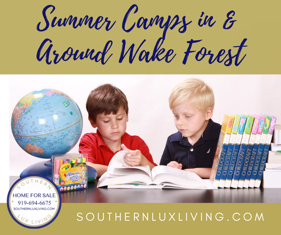 Summer Camps In & Around Wake Forest