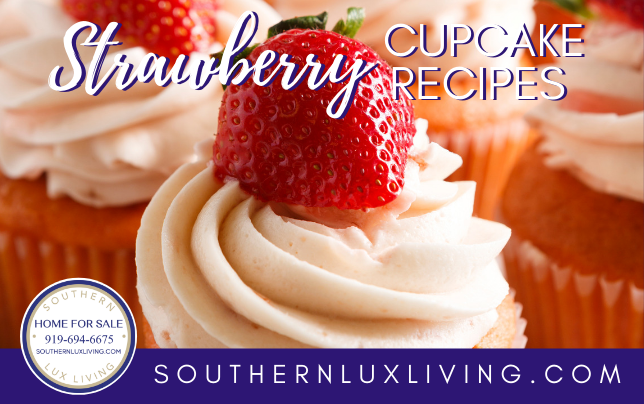 16 Strawberry Cupcake Recipes & 5 Local Strawberry Patches