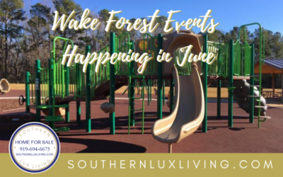 Wake Forest Events Happening in June