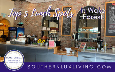 The Best Places to Eat Lunch in Wake Forest, NC