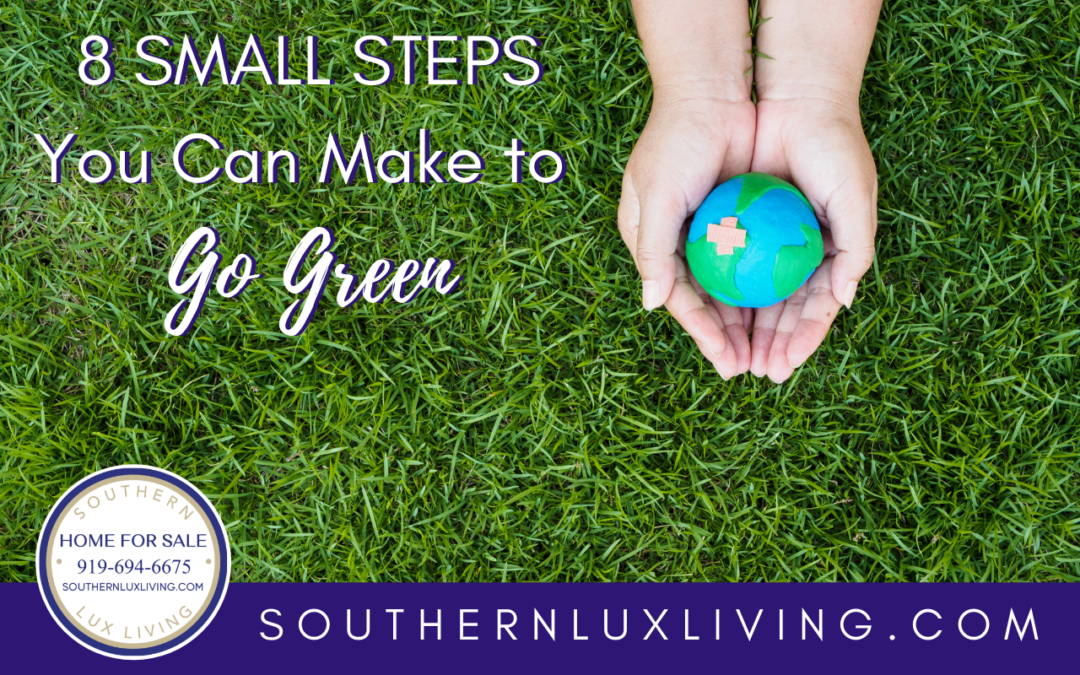 8 Small Steps You Can Make To Go Green