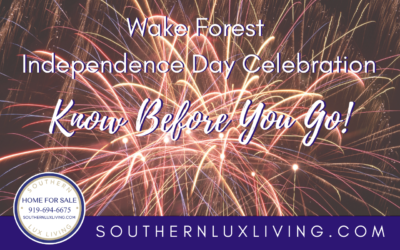 4th of July Festivities in Wake Forest