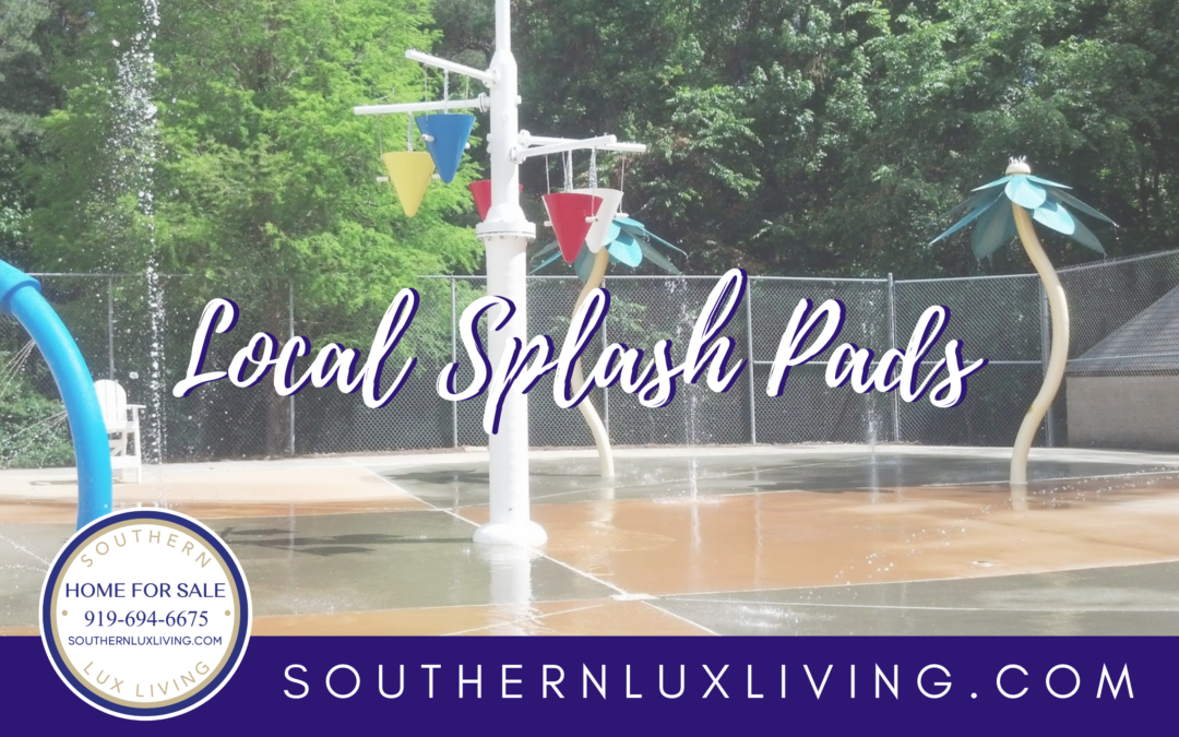 Beat the Heat!  Local Splash Pads