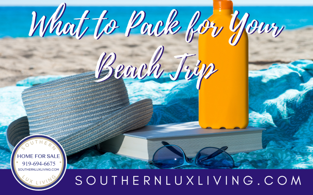Beach Please!  Don't Forget To Pack These…