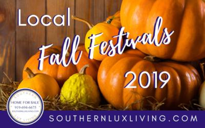 Local Fall Festivals 2019