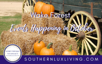Wake Forest Events Happening in October