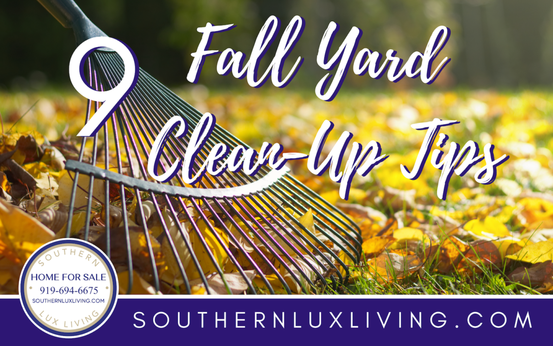 9 Fall Yard Clean Up Tips