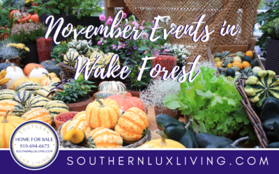 November Events in Wake Forest