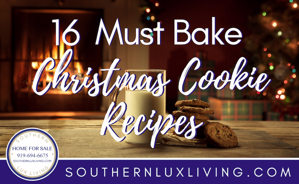 16 Must Bake Christmas Cookie Recipes