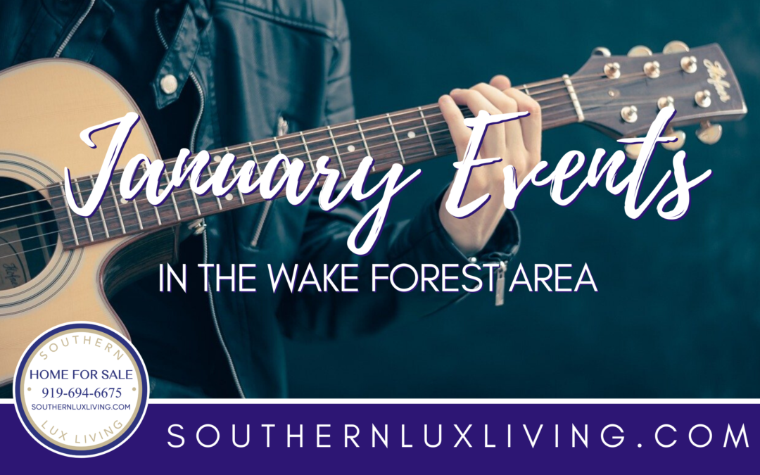 January Events in Wake Forest