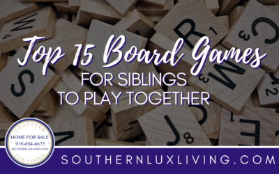 Top 15 Board Games for Siblings to Play Together