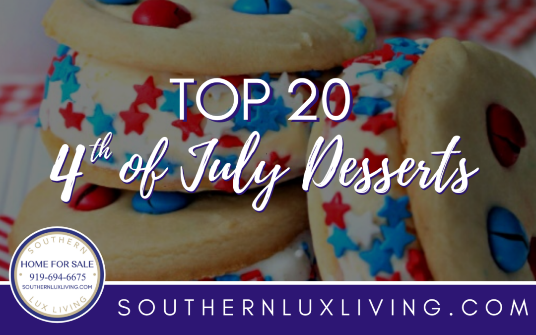 Top 20 4th of July Desserts