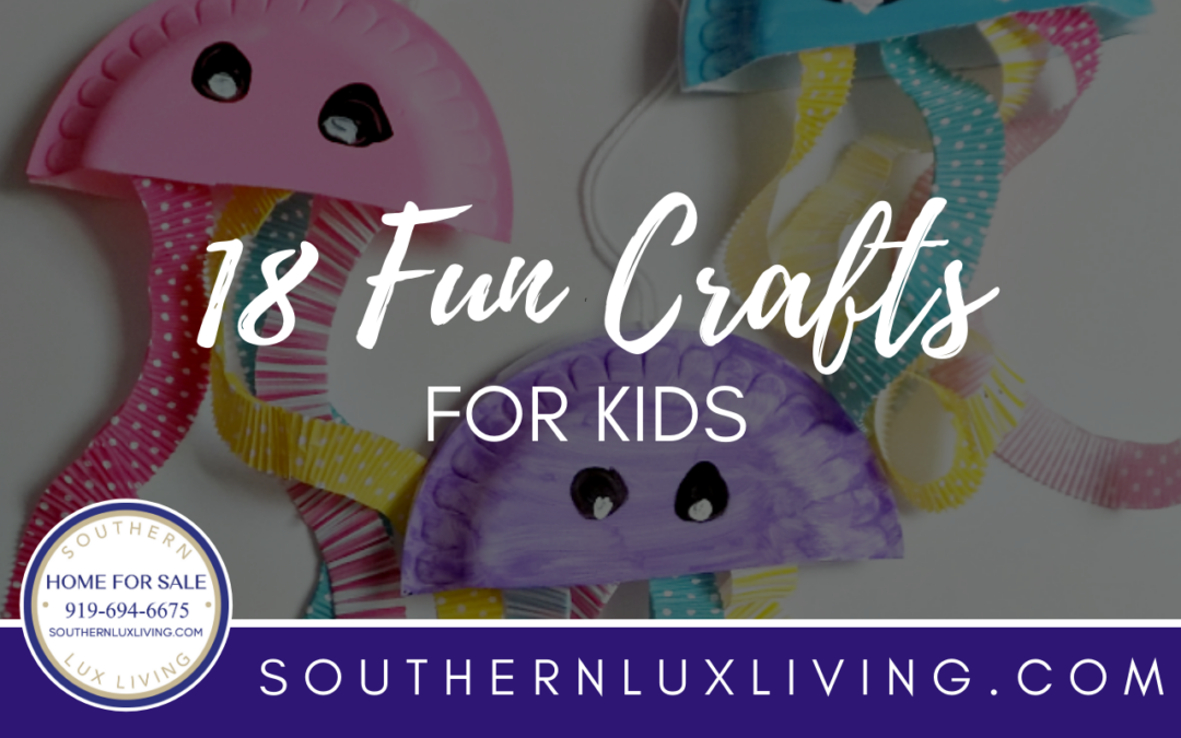 18 Fun Crafts for Kids