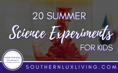 20 Summer Science Experiments for Kids