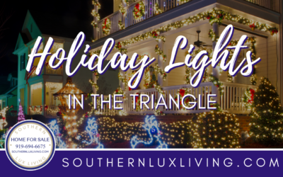 Holiday Lights in the Triangle