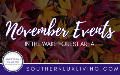 November Events In and Around Wake Forest