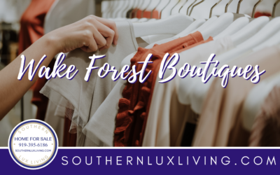 6 Wake Forest Area Boutiques