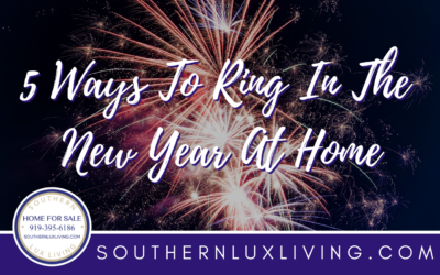 5 Ways to Ring In The New Year At Home