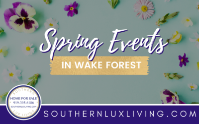 Spring Events in Wake Forest