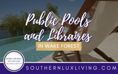 Public Pools and Libraries in Wake Forest