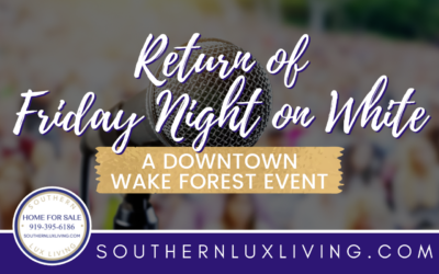 Return of Friday Night on White in Wake Forest, North Carolina