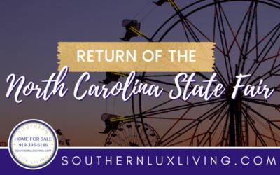 Return of the North Carolina State Fair